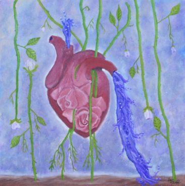 """""""Garden of Healing"""" by Amanda Cello Rose"""