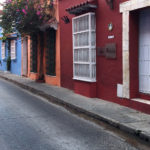 A street in Cartagena