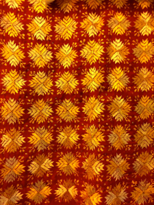 Geometric Phulkari pattern
