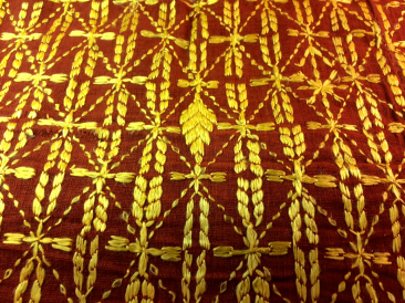 Detail, Phulkari textile, $188