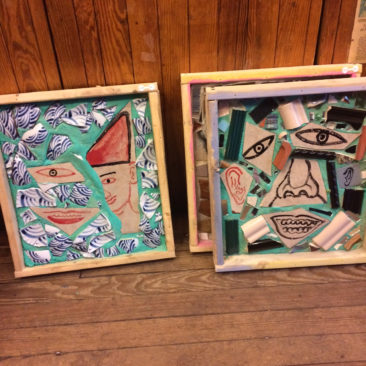 The new Isaiah Zagar pieces range from $500- $650