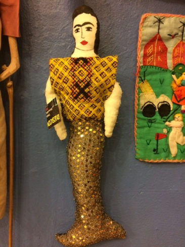Mermaid doll from Mexico, $26.50