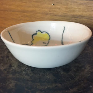 ceramics, bowl, handmade ceramics, painted ceramics, $48
