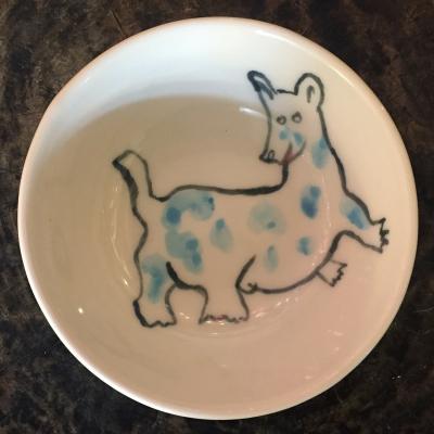 Dog Bowl by Isaiah Zagar