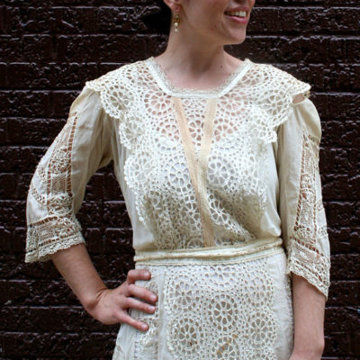 vintage, vintage dress, cotton, lace, antique lace, french lace, french vintage lace, vintage lace, vintage cotton, white cotton, white lace, cream lace, off white lace, vintage white, spring, $750