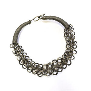 patina, patina silver, sterling silver patina, white metals, white alloy metals, vintage white metal, silver colored vintage metal, hunan, china, jewelry, necklace, statement necklace, vintage necklace, $650
