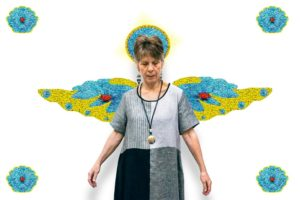Rebecca with Wings