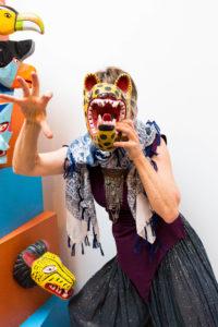 Rebecca Leopard Mask