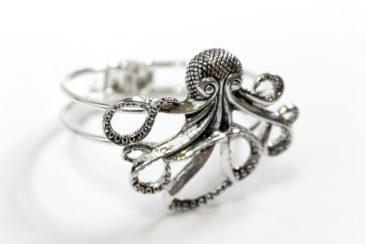 Octopus cuff by ZAD, $17. Photo by Jessica Laudicina.