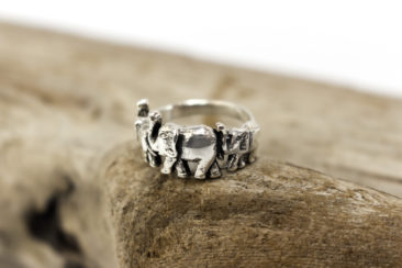 Silver elephant ring, $28. Photo by Jessica Laudicina.