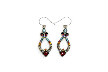 Swarovski crystal earrings by FIREFLY, $60. Photo by Jessica Laudicina.