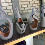 New ceramic work by Angelica Vasquez Cruz