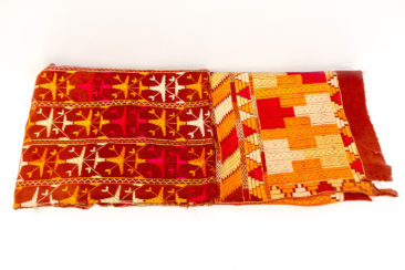 Phulkari textile from India, $350. 7 feet x 4 feet. Photo by Jessica Laudicina.
