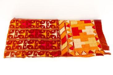 Phulkari textile from India, $350. Photo by Jessica Laudicina.