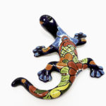 Talavera salamander, $36. Photo by Jessica Laudicina.