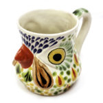Gorky Gonzalez ceramic rooster mug, $22. Photo by Jessica Laudicina.