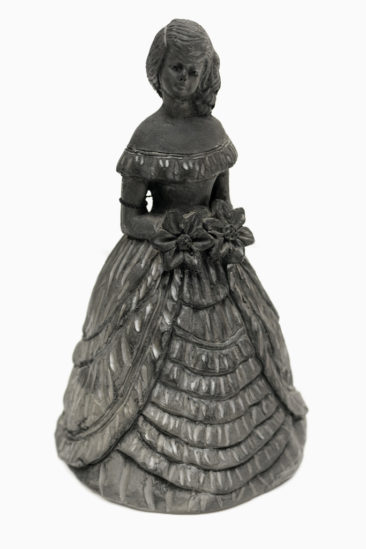 Mexican black clay woman, $38. Photo by Jessica Laudicina.