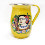 Frida Kahlo metal pitcher, $48. Photo by Jessica Laudicina.