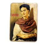 Frida Kahlo portrait wall plaque, $48. Photo by Jessica Laudicina.