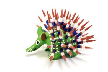Oaxacan porcupine, $12.50. Photo by Jessica Laudicina.