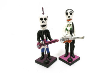 Day of the Dead punk rock figurines
