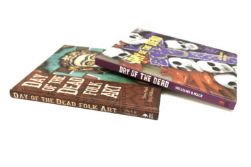 Day fo the Dead folk art books, $19.99 each. Photo by Jessica Laudicina.