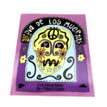 Dia de Los Muertos coloring book, $12.50. Photo by Jessica Laudicina.