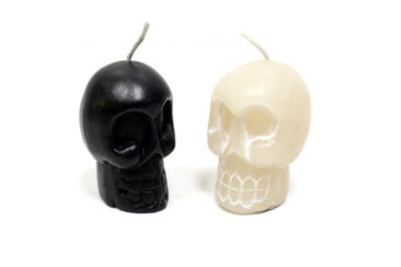 Skull candles, $5.50 each. Photo by Jessica Laudicina.