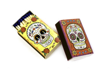 Sugar skull matchbooks