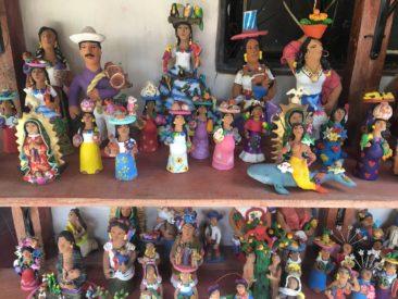 Josefina Aguilar sculptures