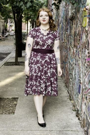 Wine printed dress by EFFIE'S HEART, $102. Photo by Jessica Laudicina.