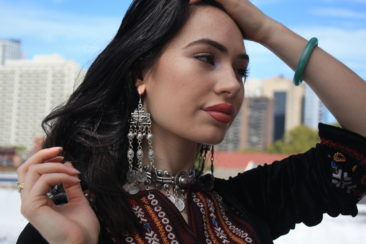 Turkish earrings, $20. Photo by Duncan Brittin.