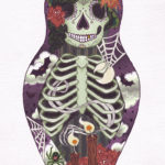 "Kait O'Donnell, ""Muerte Doll,"" digital print, $50."