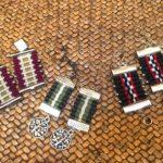 Mapuche woven earrings, $26.50.