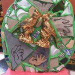 Isaiah Zagar, Lovebirds, mosaic, $250