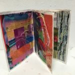 Nadia Kunz, Passion, collage and embroidery, $75