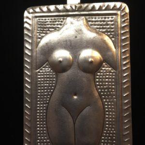 Female Form Tin Milagro
