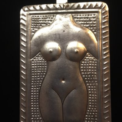Female Form Tin Milagro