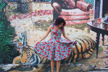 EFFIE'S HEART Dolce Vita dress in American Rose print, $108