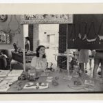 Julia Zagar representing Eye's Gallery at South Street Headhouse in the 1970s.