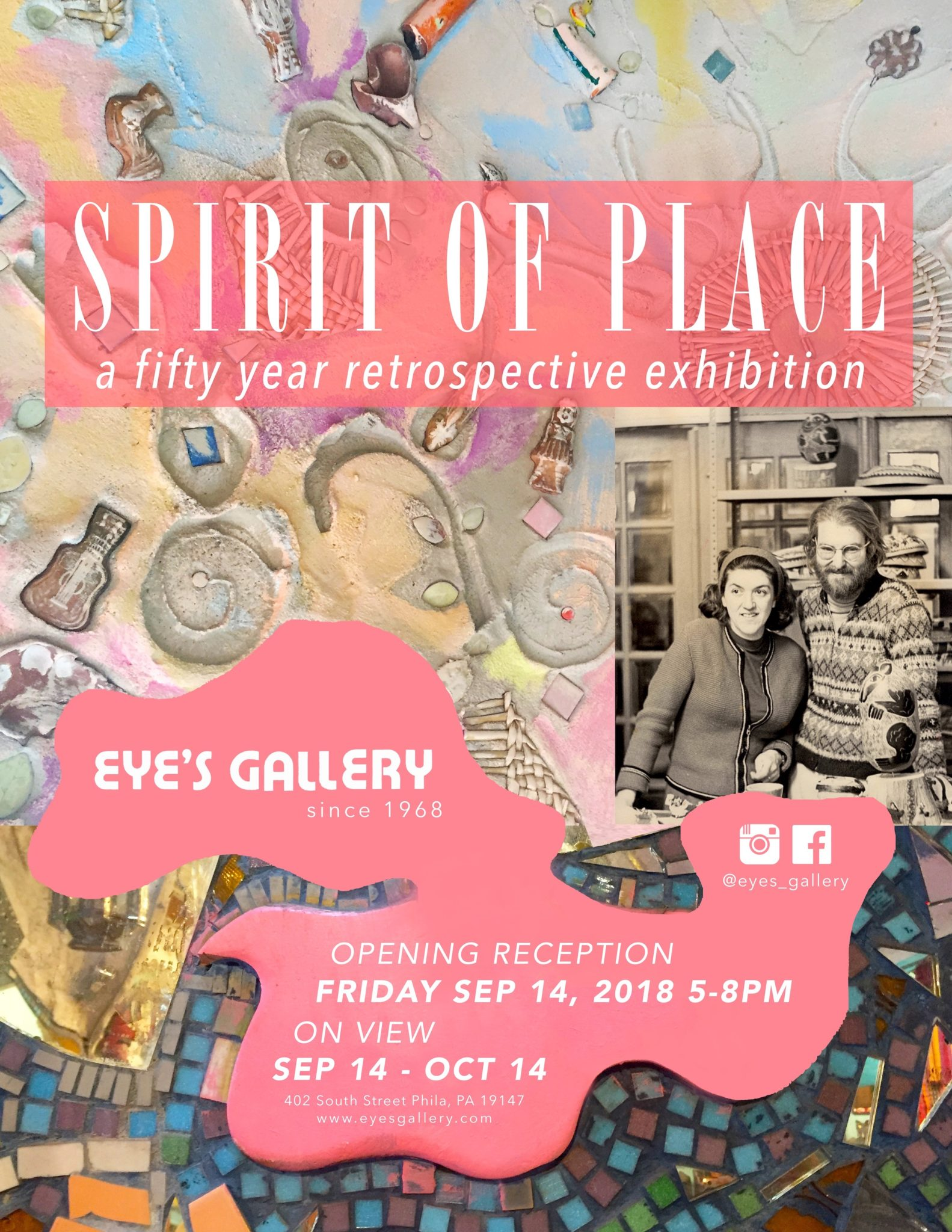 Spirit of Place: 50th Anniversary Retrospective Exhibition