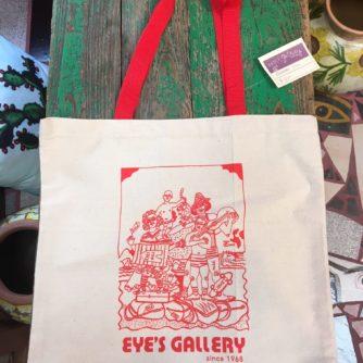 Eye's Gallery tote bag