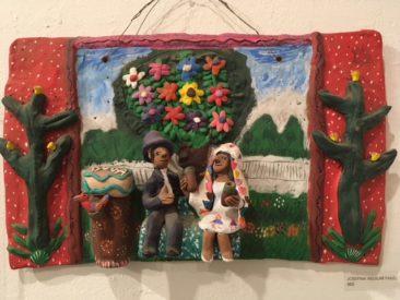 Josefina Aguilar ceramic panel