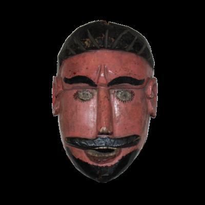 Vintage Guatemalan San Simon / Maximon Mask