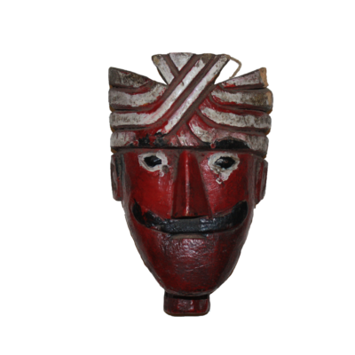Decorative Street Theatre Puppet Head from India