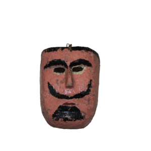 Vintage Mexican Character Mask