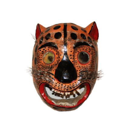 Large Tigre Jaguar Dance Mask from Guerrero