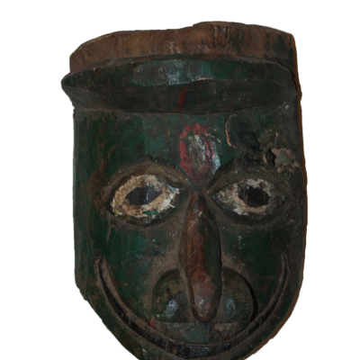 Large Street Theatre Puppet Head Mask from India