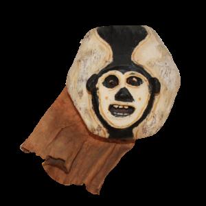 Vintage Bolivian Monkey Mask