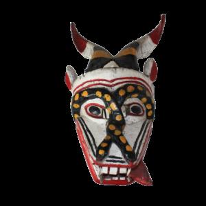 Vintage Pastorela Diablo Dance Mask